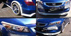 Custom Honda Accord Sedan Front Bumper (2004 - 2007) - $450.00 (Part #HD-007-FB) Honda Accord Coupe, Custom Body Kits, Station Wagon