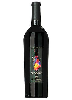Macchia Zinfandel Mischievous Lodi  Intense, Blackberry, Raspberry, Full-bodiedLodi, CA- This old vine Zinfandel is a blend from five different old vine Zinfandel vineyard, resulting in a classic fruit-forward wine that is the centerpiece of all great Lodi wines. The rich, ripe berry flavors are high-lighted with a subtle hint of soft vanilla-oak. Veal Scaloppini.
