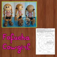Fofucha cowgirl