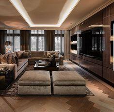 40 best rustic apartment living room decor ideas and makeover 1 Elegant Living Room, Elegant Home Decor, Elegant Homes, Living Room Modern, Living Room Interior, Home Living Room, Living Room Designs, Luxury Interior, Home Interior Design