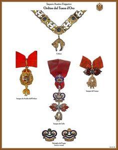 I NOSTRI AVI • Leggi argomento - Tavole ordini AUSTRIA-UNGHERIA (Nuove) Arts Award, Austria, Austro Hungarian, Bracelets, Awards, Jewelry, Decorations, Hanging Medals, Jewels