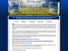 ① Ebooks Land - The Ultimate PLR Shop - http://www.vnulab.be/lab-review/%e2%91%a0-ebooks-land-the-ultimate-plr-shop