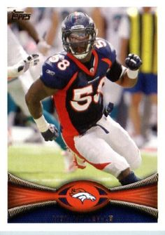 2012 Topps Football Card #325 Von Miller - Denver Broncos (NFL Trading Card) by Topps. $1.89. 2012 Topps Football Card #325 Von Miller - Denver Broncos (NFL Trading Card)