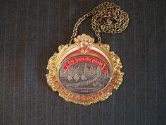 German Carnival Medal, Do bes de platt, K.G. Stachelditzges e.V. 1976 - 2009 [Vintage] by MaGriffeBoutique on Etsy