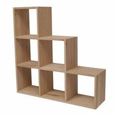 escalier 6 cases chne massif tromso achat vente meuble tagre escalier 6 cases chne