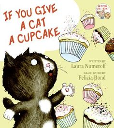 """Infuriating little bags of fur, aren't they """"If You Give a Cat a Cupcake"""" Bedtime on 9/3/12 for #fridayreads"""