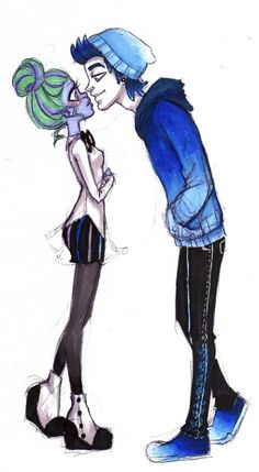 monster high fright mares - Google Search - Twyla and Invisi Billy! I thought he was Scarahs boyfriend?