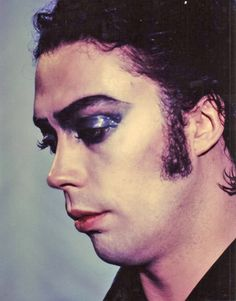 OMG just saw this photo Tim Curry. I HAVE to draw this!!