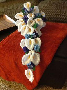 37 Flower Bouquet Crochet Pattern Free 37 Flower Bouquet Crochet Pattern Free Diy To Make Bouquet Crochet, Crochet Puff Flower, Knitted Flowers, Love Crochet, Irish Crochet, Beautiful Crochet, Crochet Roses, Crochet Pattern Free, Crochet Motifs