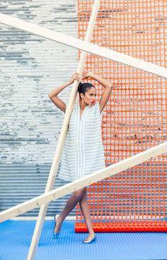 Claudia Dey Toronto Fashion Week, Outdoor Furniture, Outdoor Decor, Hammock, Beach Mat, Outdoor Blanket, Globe, Profile, Beauty