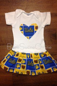 1cc65efbca41 UCLA Bruins Ruffle Bodysuit