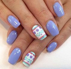 If you're looking for cute nail art designs for Easter, you're in the right place! Our collection of 32 Easter nail designs will certainly inspire you and stimulate your creativity. Your nails shouldn't be ignored this year. Cute Nail Art Designs, Nail Art Design 2017, Easter Nail Designs, Easter Nail Art, Nail Designs Spring, Nails Design, Easter Color Nails, Holiday Nail Designs, Salon Design
