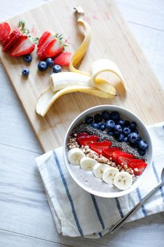 Smoothie-Bowl (health smoothie recipes clean eating)