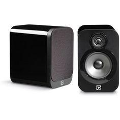 Q Acoustics 3020 Black Lacquer