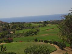There are many gorgeous golf courses in Cabo San Lucas, within 10-20 miles from the Carnival Spirit's pier