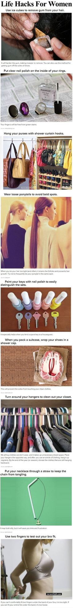 Life Hacks For Women women diy diy ideas easy diy interesting tips life hacks life hack good to know