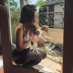 """24.1k Likes, 243 Comments - B E A (@beamiller) on Instagram: """"i'm posting a picture of me holding a cute puppy in an attempt  to casually bring up my new music…"""""""