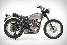 Fonzie's 1949 Triumph Trophy 500 Motorcycle
