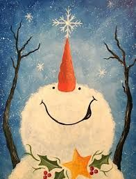 Image Result For Easy Christmas Painting Ideas On Canvas