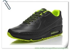 All Preto/Verde Nike Air Max 90 Leather