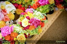 pink white yellow bouquet - Google Search