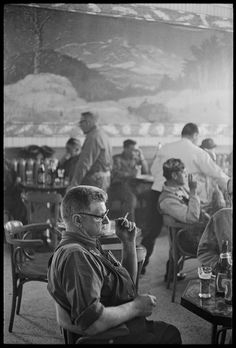 Henri Cartier-Bresson - Canada. Montreal. Inside of a tavern. 1965