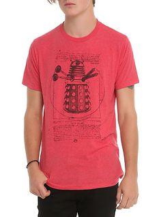 Doctor Who Vitruvian Dalek T-Shirt | Hot Topic