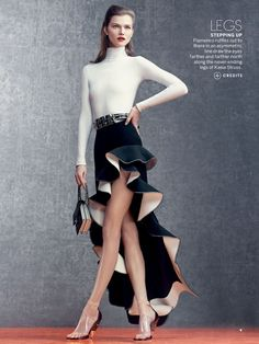 Influence and Stardoll: ♥♥♥ Kasia Struss, Hilary Rhoda, Doutzen Kroes & others for Vogue US April 2013 by Craig McDean