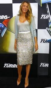Look of the Day: Blake Lively in Burberry Prorsum Resort 2014 at the New York Premiere of Turbo Blake Lively Street Style, Street Style 2014, New Shape, Dress To Impress, Nice Dresses, Style Me, Burberry, Celebrity Style, Dress Up