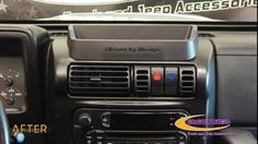 Daystar Products 1997-2006 Jeep Wrangler TJ & Cherokee XJ Vent Switch In...