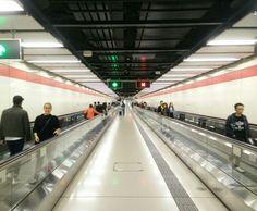 Hong Kong metro station