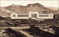 Το Εθνικό Αρχαιολογικό Μουσείο, το 1900. Φωτογραφία Αφοί Ρωμαΐδη