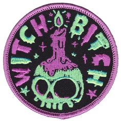 PORK WITCH BITCH PATCH $6.00 #patch #witch #witchy