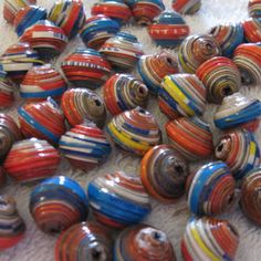 Paper bead creations