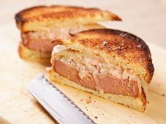 Best sandwich recipes   Add some griddled onions to the mix, replace the Wonderbread with rye ...