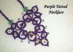 The Frivolite Club Needle Tatting, Tatting Lace, Needle Lace, Bobbin Lace, Tatting Necklace, Tatting Jewelry, Tatting Patterns, Lace Patterns, Lace Making