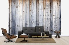 Old Wooden Wall - Wall Mural & Photo Wallpaper - Photowall