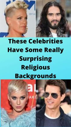 These #Celebrities Have Some Really #Surprising Religious #Backgrounds
