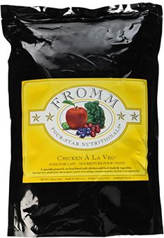 Fromm FourStar Chicken a La Veg Dry Cat Food 5Pound Bag -- More info could be found at the image url.