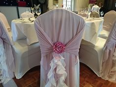 Chiffon hoods and tails at The Manor Hotel Yeovil