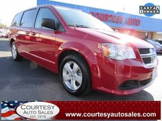 2013 DODGE GRAND CARAVAN -- VERY WELL MAINTAINED 1-OWNER! -- GOOD On GAS! -- CLEAN CAR-FAX!  -- Price INCLUDES A 3 MONTH/3,000 Mile WARRANTY! -- CALL TODAY! * 757-424-6404 * FINANCING AVAILABLE! -- Courtesy Auto Sales SPECIALIZES In Providing You With The BEST PRICE On A USED CAR, TRUCK or SUV! -- Get APPROVED TODAY @ courtesyautosales.com * Proudly Serving Your USED CAR NEEDS In Chesapeake, Virginia Beach, Norfolk, Portsmouth, Suffolk, Hampton Roads, Richmond, And ALL Of Virginia SINCE…