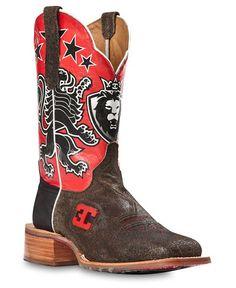 Cinch Edge Leon Cowboy Boots - Square Toe