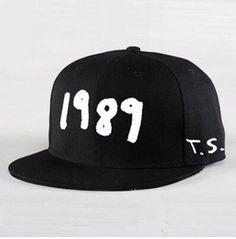 Taylor Swift 1989 flat brim cap hip hop Luminous baseball jacket