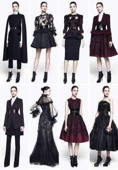 Downtown Abbey Inspired Alexander McQueen // Archive