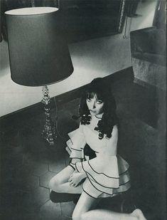 Anna Karina / Paris Vogue, 1968