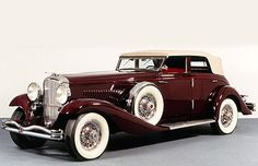 Rollston Duesenberg JN Convertible Sedan 1935