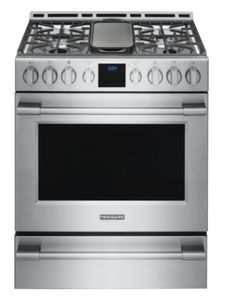 Frigidaire Professional 30 Inch Gas Freestanding Range with PowerPlus Burner, PrecisionPro Controls, PowerPlus Temperature Probe and PowerPlus Convection in Smudge-Proof Stainless Steel Ottawa, Calgary, Vancouver, Ranger, Toronto, Slide In Range, Frigidaire, Electric, Range Cooker