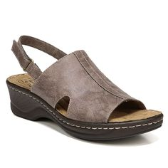 12f137ca5648 NaturalSoul by naturalizer Seleste Women s Leather Wedge Sandals