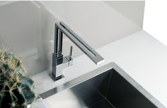 Gessi is the design manufacturer of luxury bath and kitchen faucets, showers system and electronically operated taps. Kitchen Mixer, Kitchen Sink, Luxury Bath, Kitchen Accessories, Kitchen Design, Shower, Home Decor, Products, Kitchens