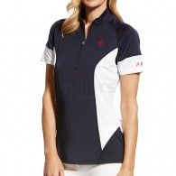 63d736d1 Ariat® Ladies Cambria Jersey Polo Navy Equestrian, Polo Shirt, Polo Ralph  Lauren,